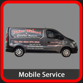 Mobile Auto Cosmetic Repairs Wolverhampton With Paint Wizard